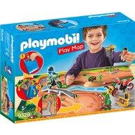 Playmobil - Plansa de joaca - Circuit motocross