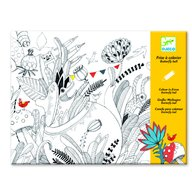 Djeco - Plansa tablou desen Balul florilor