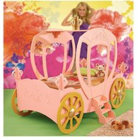 Plastiko - Pat in forma de masina Princess Carriage