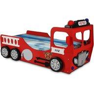 Plastiko - Pat in forma de masina Pompieri