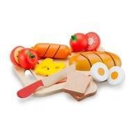New Classic Toys - Platou cu diferite alimente