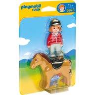 Playmobil - Femeie cu calut