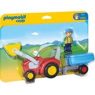 Playmobil - Tractor cu remorca