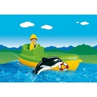 Playmobil  Barca de pescuit cu balena