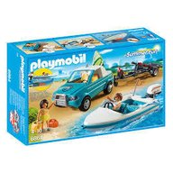 Playmobil - Barca de viteza cu surfer