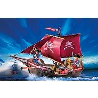 Playmobil - Barca soldatilor cu tun