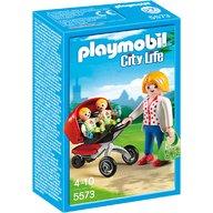 Playmobil - Carucior cu gemeni
