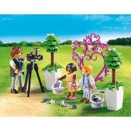 Playmobil - Copii cu flori si fotograf