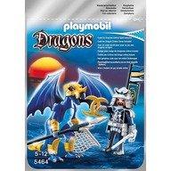 Playmobil Dragonul Ghetii cu luptator