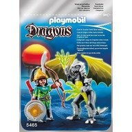 Playmobil Dragonul Luminii cu luptator