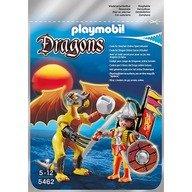 Playmobil Dragonul Pietrei cu luptator