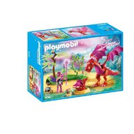 Playmobil - Dragonul prietenos cu puiul sau