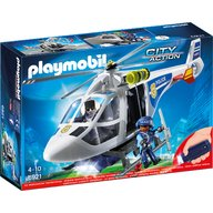 Playmobil - Elicopter de politie cu led