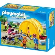 Playmobil In excursie la camping