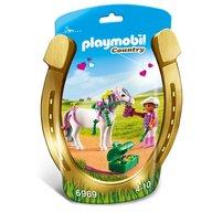 Playmobil - Ingrijitor si ponei cu inimioare