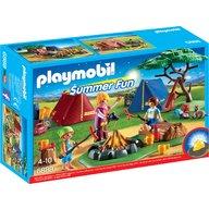 Playmobil - Loc de tabara cu led de foc