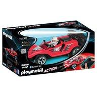 Playmobil - Masina de curse cu telecomanda, rosie