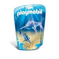 Playmobil - Peste-sabie cu pui