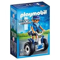 Playmobil - Politista cu masina de echilibru
