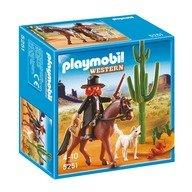 Playmobil Serif cu cal