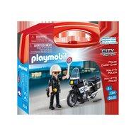 Playmobil - Set portabil Politie
