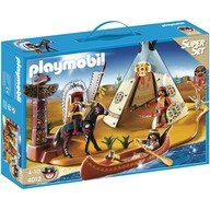 Playmobil Super set Tabara Amerindienilor