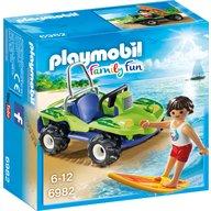 Playmobil - Surfer cu vehicul de plaja