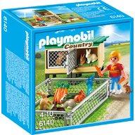 Playmobil - Tarc de iepuri cu cusca