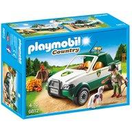 Playmobil - Transportor de lemne cu macara