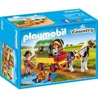 Playmobil - Trasura cu ponei si picnic