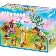 Playmobil Zana muzicii si animalele padurii