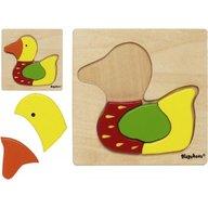 Playshoes - Joc puzzle din lemn Ratusca