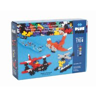 Plus Plus - Set Basic Avioane, 170 piese