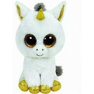 TY - Jucarie din plus Pegasus unicorn , Boos , 15 cm, Alb