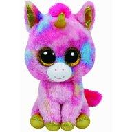 TY - Jucarie din plus Unicornul Fantasia , Boos , 24 cm, Multicolor
