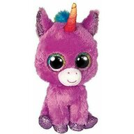 TY - Jucarie din plus Unicornul Rosette , Boos , 24 cm, Violet