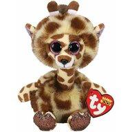 TY - Jucarie din plus Girafa cu gatul lung , 24 cm