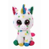 TY - Jucarie din plus Unicornul Harmonie , Boos , 42 cm, Cu buline