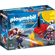 Playmobil - Pompieri cu pompa de apa
