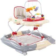 Sun Baby - Premergator cu sistem de balansare, Pisicuta , Rosu cu gri