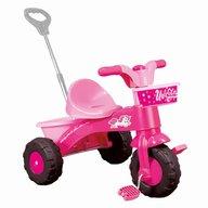 DOLU - Prima mea tricicleta cu maner Unicorn, Roz