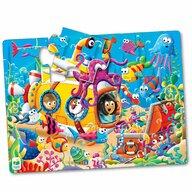 THE LEARNING JOURNEY - Puzzle de podea Prietenii oceanului Puzzle Copii, piese 12
