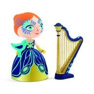 Djeco - Printesa Elisa cu harpa