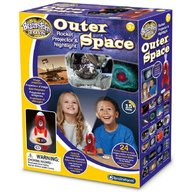 Brainstorm Toys - Proiector si lampa de veghe Outer Space