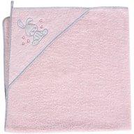Ceba Baby - Prosop cu capison 100x100 cm, Iepuras roz