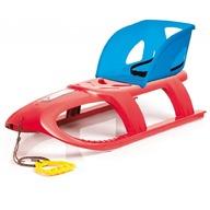 Prosperplast - Sanie Bullet Seat rosie cu albastru