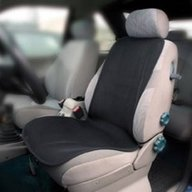 Aeromoov - Protectie Antitranspiratie scaun auto adulti BBC Organic, Negru