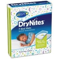 Protectie pentru pat absorbanta Huggies DryNites Bed Mats 7 buc