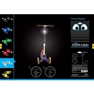 Proviz Semnalizatoare luminoase pentru carucioare si biciclete Proviz blue