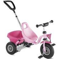 Puky Tricicleta cu maner CAT 1 L roz
